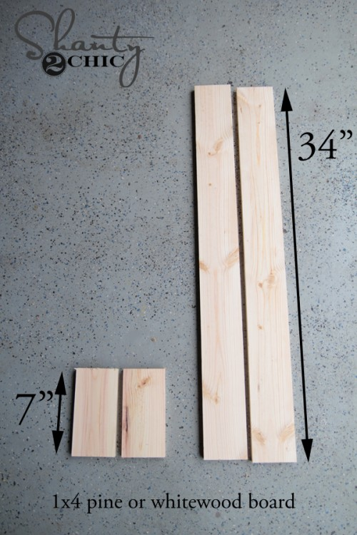 wood for planter