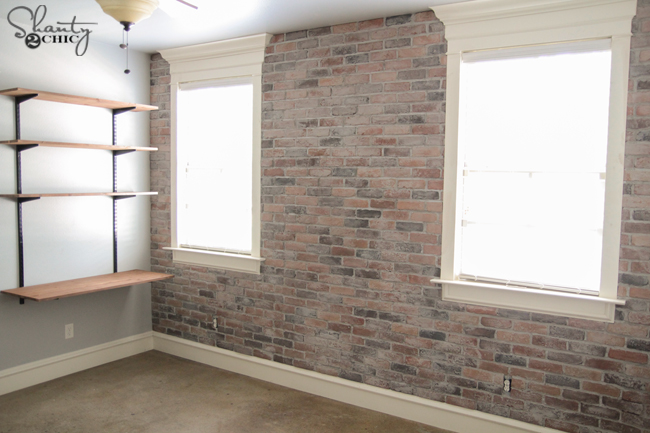 Diy Thin Brick Wall Shanty 2 Chic