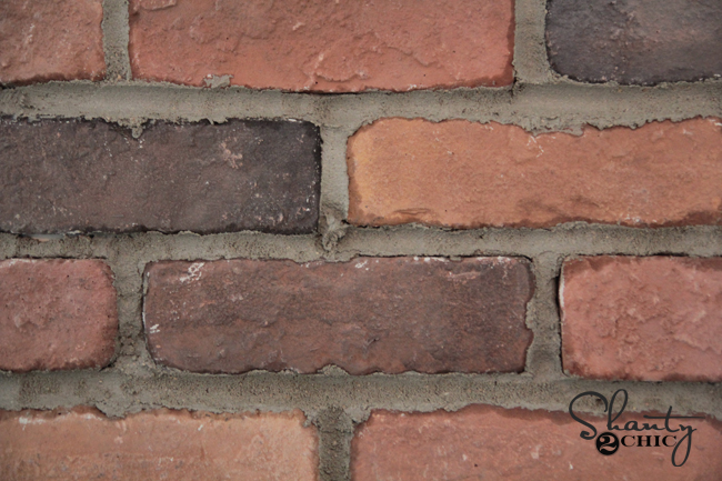 How to mortar thin brick