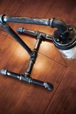 Mason Jar Pipe Lamp