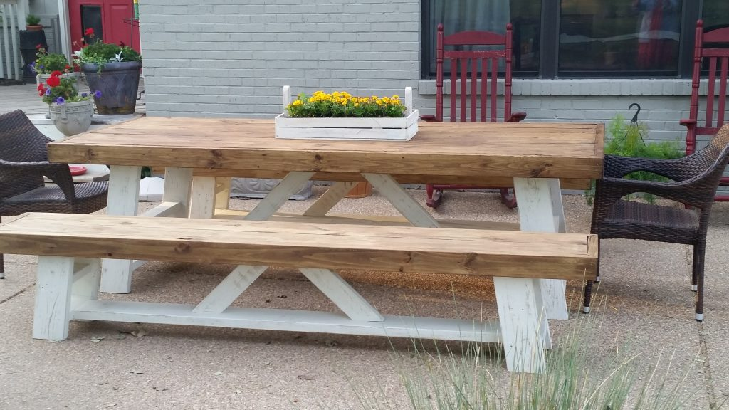 outdoor farm table shanty 2 chic