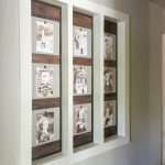 DIY Wood Photo Gallery Wall
