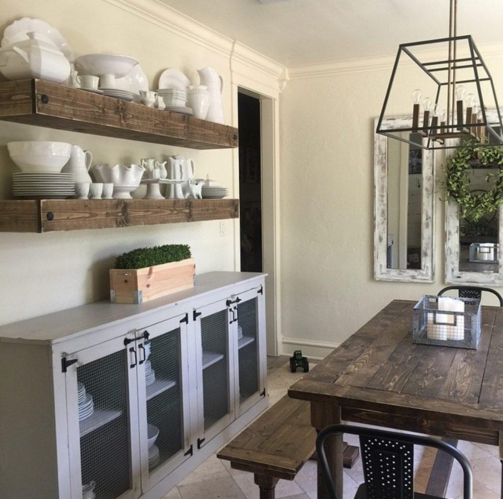 Diy Dining Room Storage Ideas: Updating The Floors!