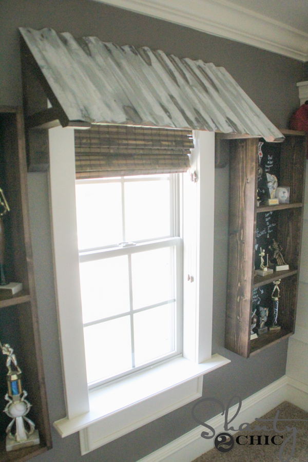Diy Corrugated Metal Awning Shanty 2 Chic