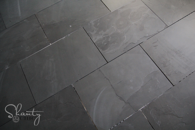 grey slate floors