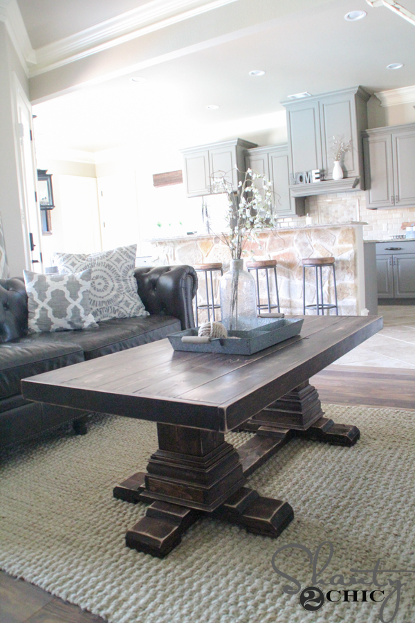 DIY Coffee Table With Legs