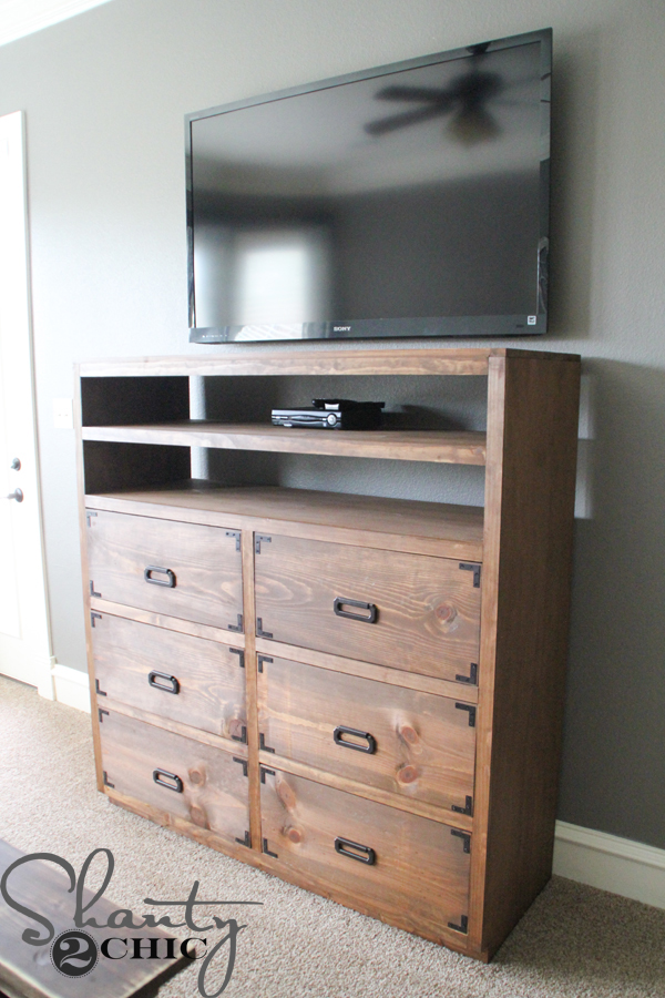 Diy Dresser With Media Storage