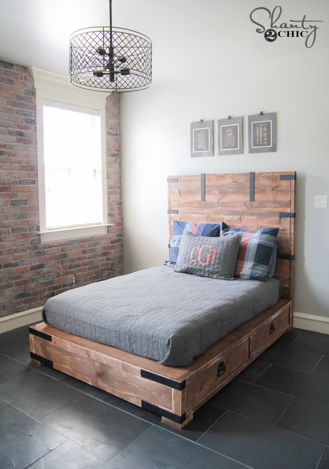 diy platform beds with storage below | Woodworking Beginners Guide
