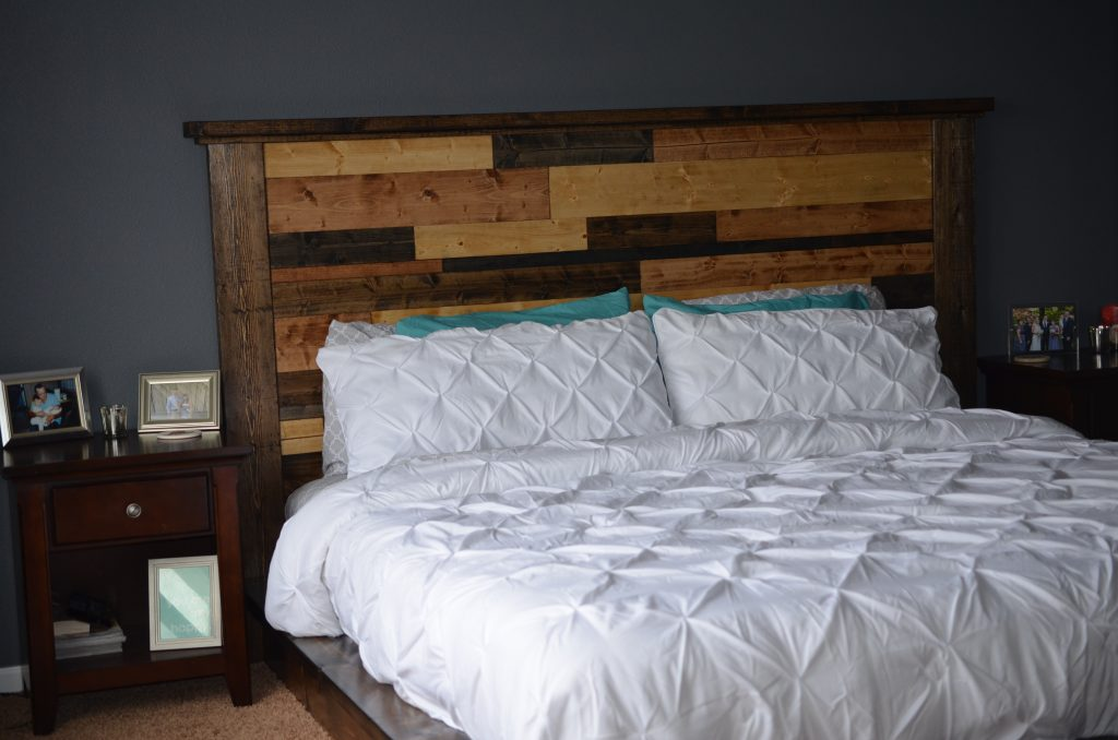 Master Suite Headboard And Bed Frame Shanty 2 Chic