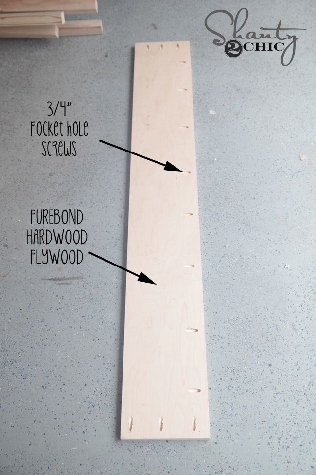 Purebond plywood for sides