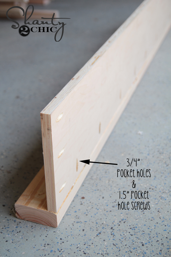 attach plywood to 2x4
