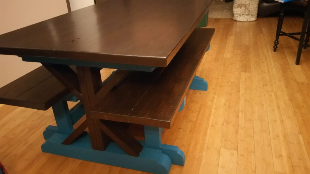 Diy dining table for only 65 shanty 2 chic autos post for 65 farmhouse table
