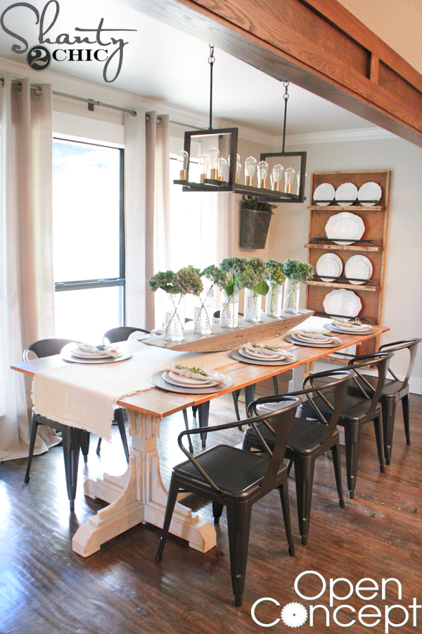 Open Concept HGTV Dining Table