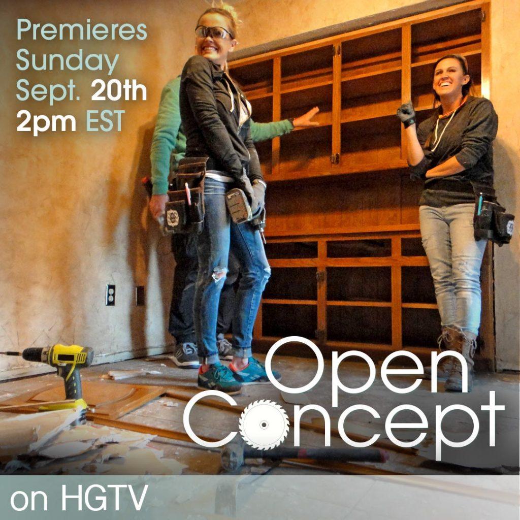 Open Concept on HGTV
