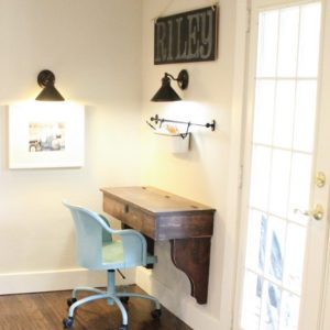 diy floating student desk as seen on hgtv open concept