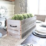 DIY Barn Wood Planter Box
