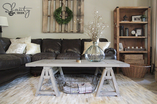 DIY Coffee Table Shanty2Chic Free Plans