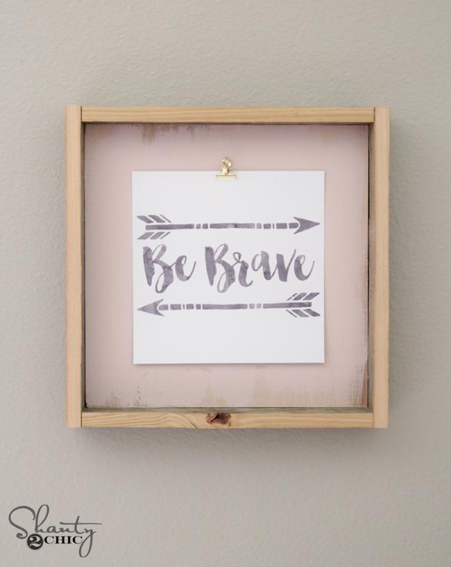 DIY Frame and Free Printable