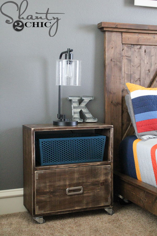 DIY-Nightstand-with-Casters