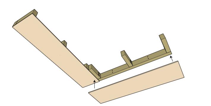 Attach bottom boards