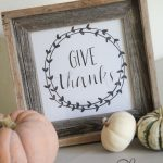Give Thanks Free Printable!