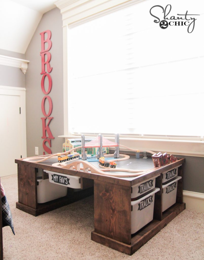 diy train or lego table shanty 2 chic. Black Bedroom Furniture Sets. Home Design Ideas