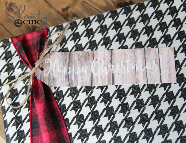 Free Printable Gift Tags by Shanty2Chic