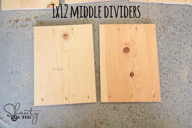 Mjddle Dividers for train table
