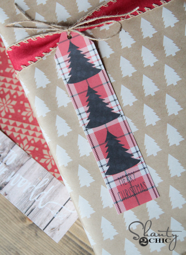Shanty2Chic Free Printable Christmas Tags