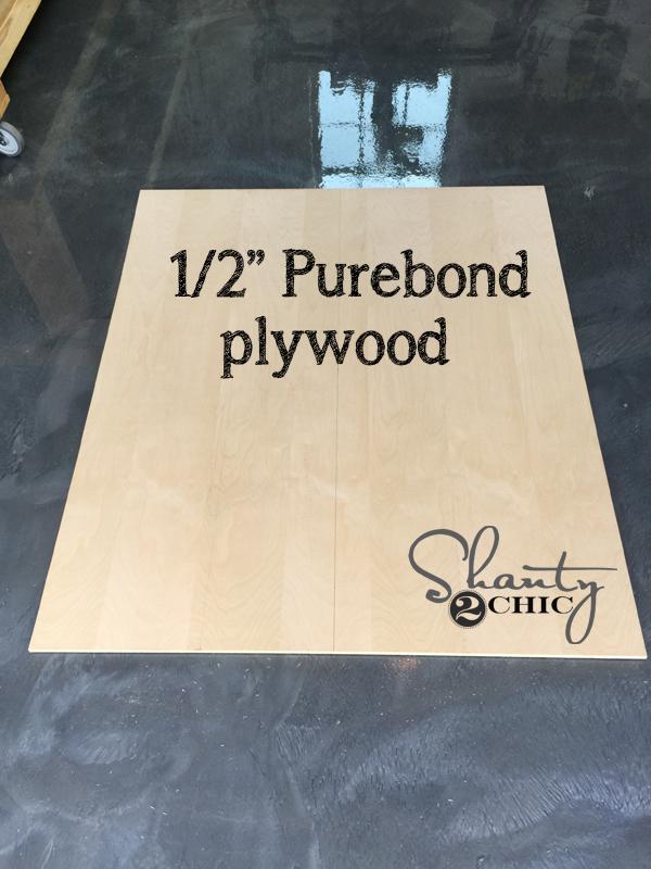 plywood-backing