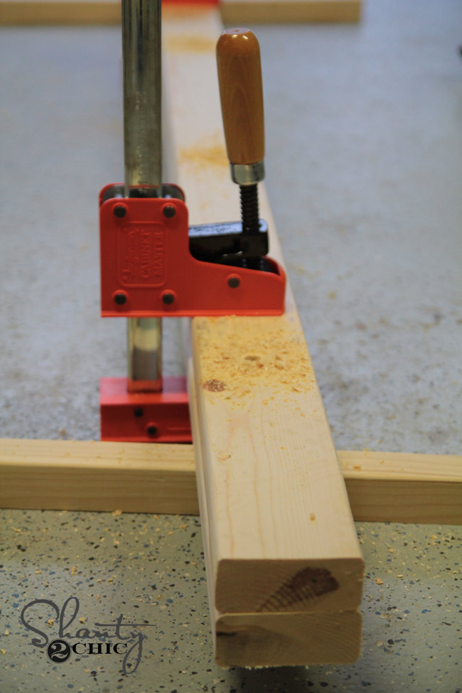 Clamp boards to add holes