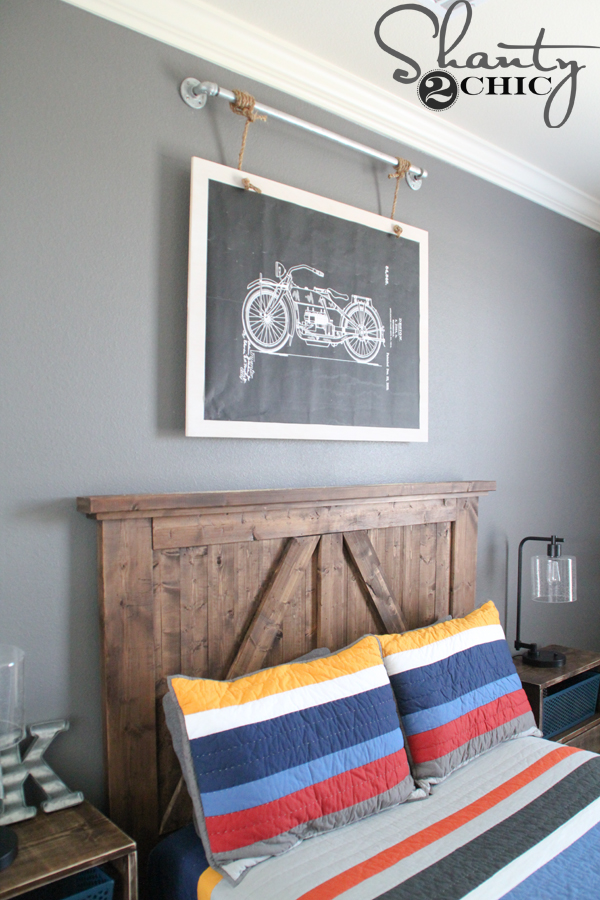 Diy Industrial Wall Art With Free Printable Shanty 2 Chic