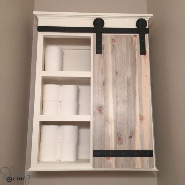 DIY Storage for Bathroom