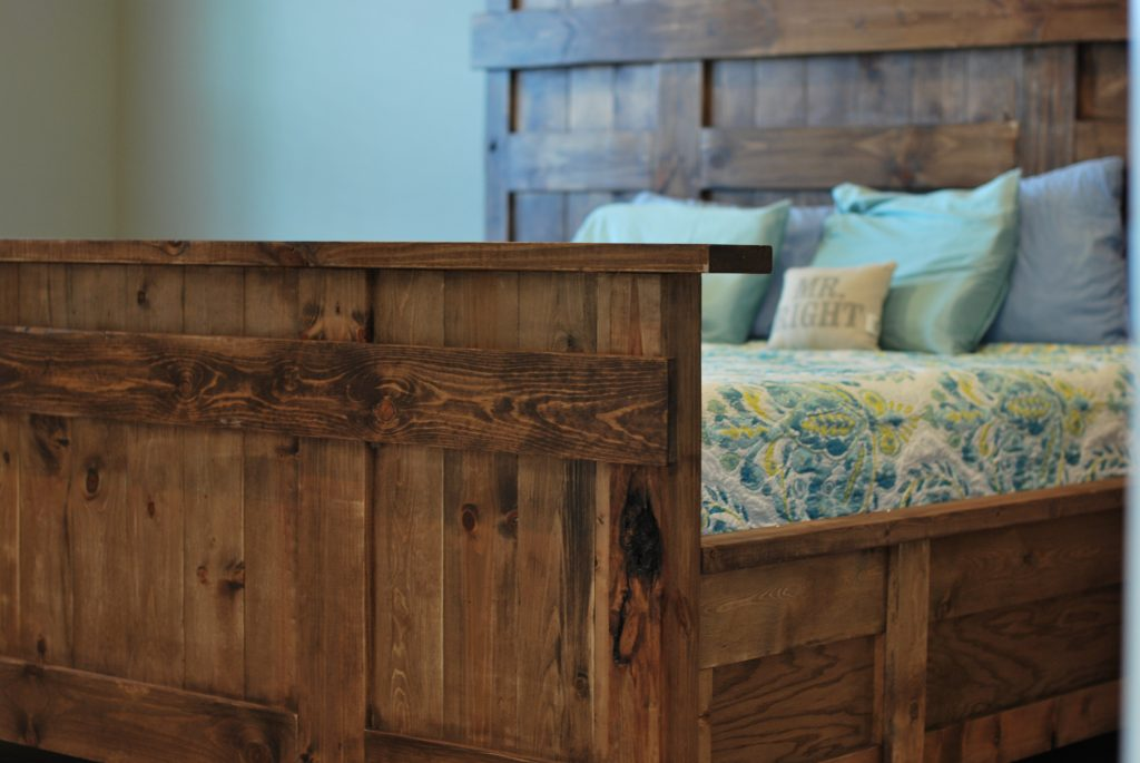 Diy King Size Bed Shanty 2 Chic