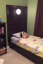 PB Teen Inspired Platform Bed (w/ a twist)