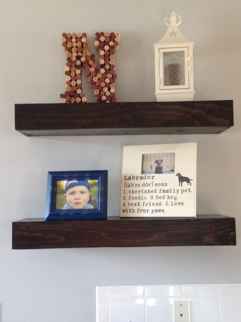 Shanty 2 Chic: Floating Shelves