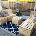 DIY Couple Tackle Outdoor Sectional