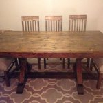 Restoration Hardware Inspired Dining Table