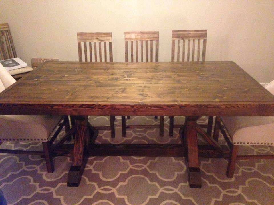 restoration hardware inspired dining table shanty 2 chic