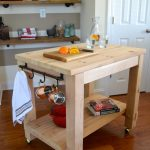 Cedar Kitchen Island