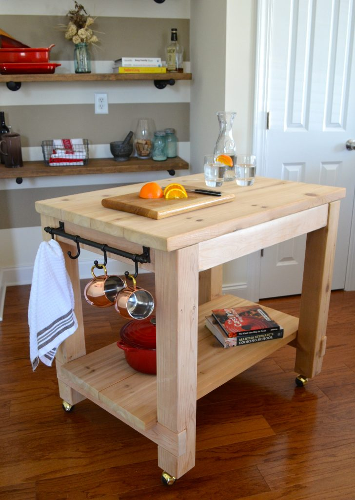 Cedar Kitchen Island Shanty 2 Chic