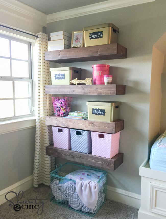 Floating Shelf Free Plans