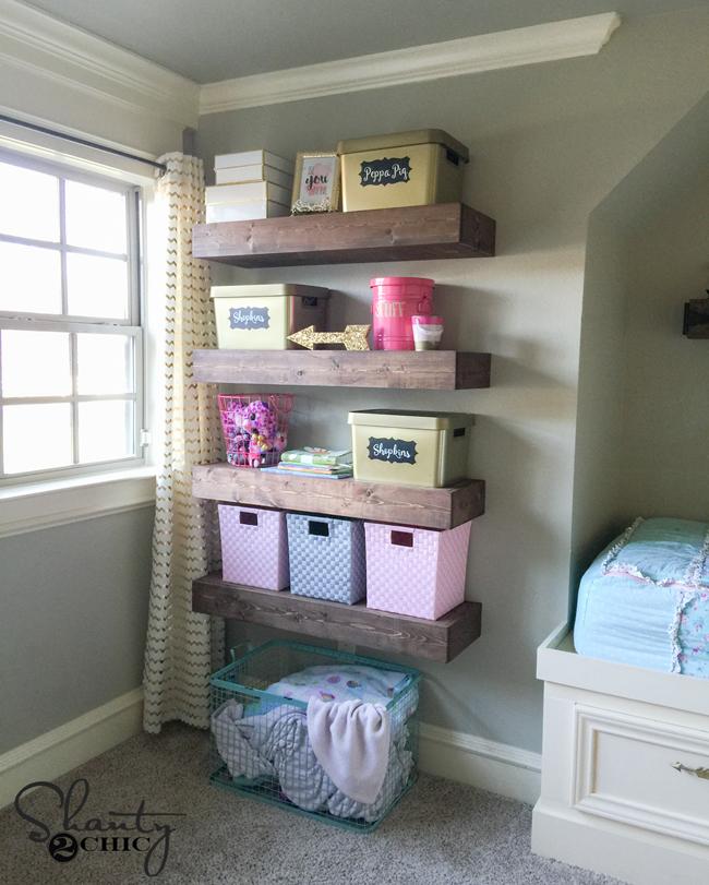 Shanty2Chic Floating Shelves