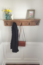 How to Build a Farmhouse Coat Rack out of 100 Year Old Barn Wood