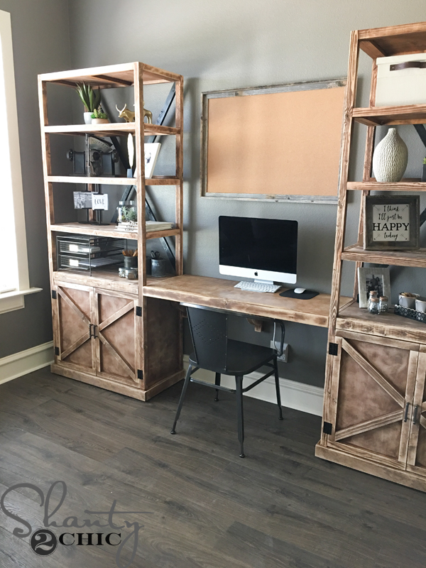 Diy Floating Desk For Office Towers Shanty 2 Chic