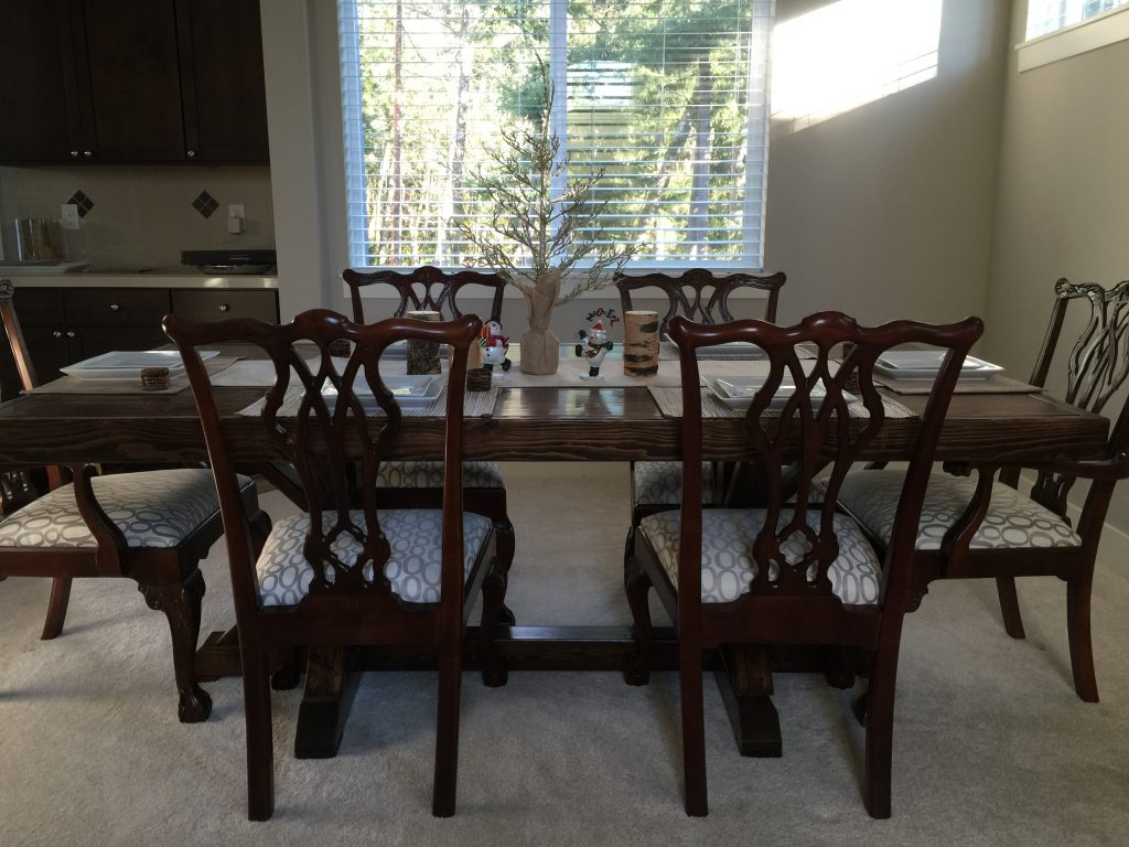 My Restoration Hardware Inspired Dining Table