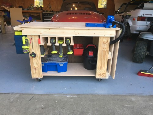 Rolling Workbench Shanty 2 Chic