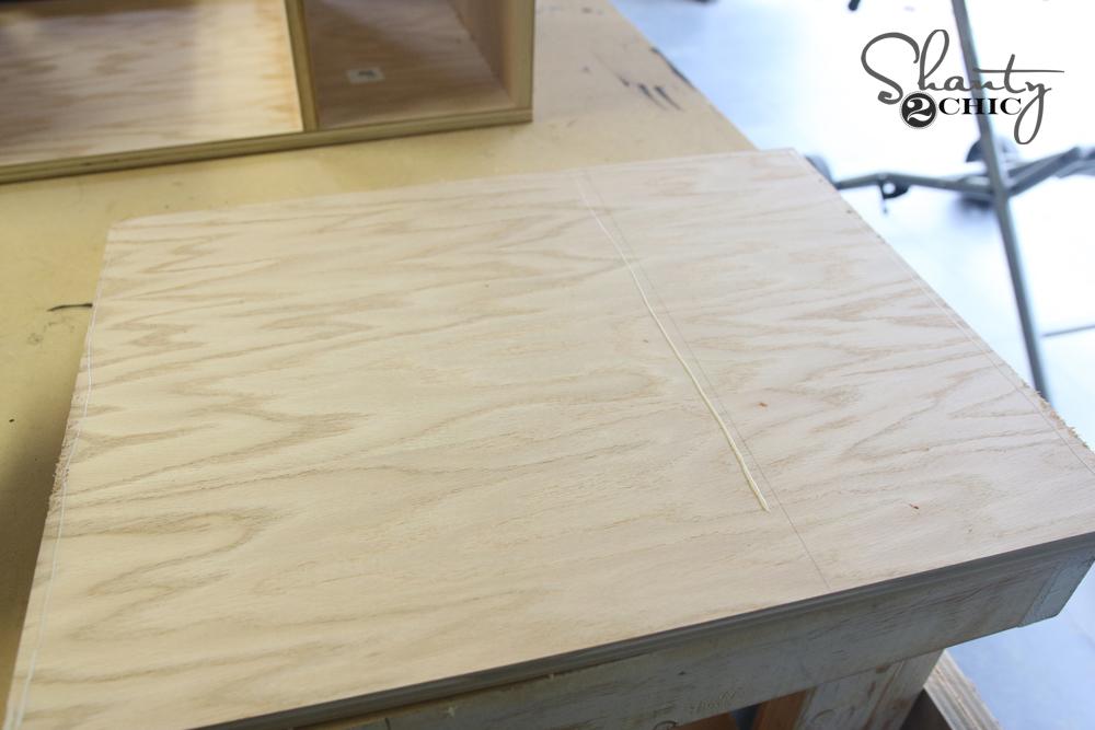 Add line of glue