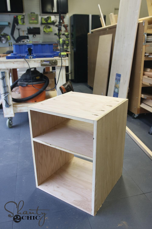 Box of desk