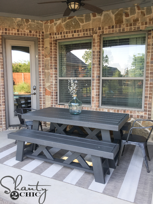 Outdoor Patio Revamp Shanty 2 Chic